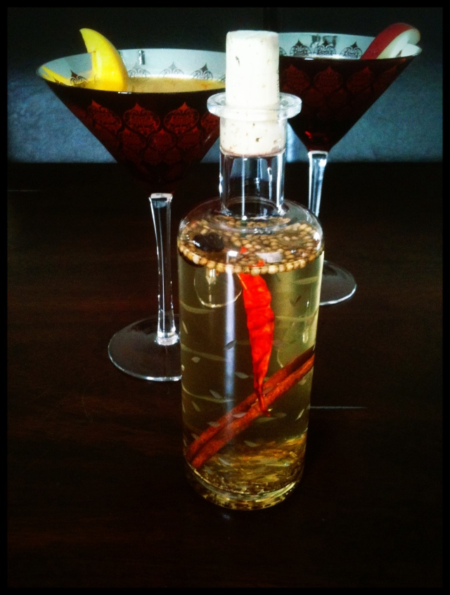 Indian Inspired Spiced Vodka