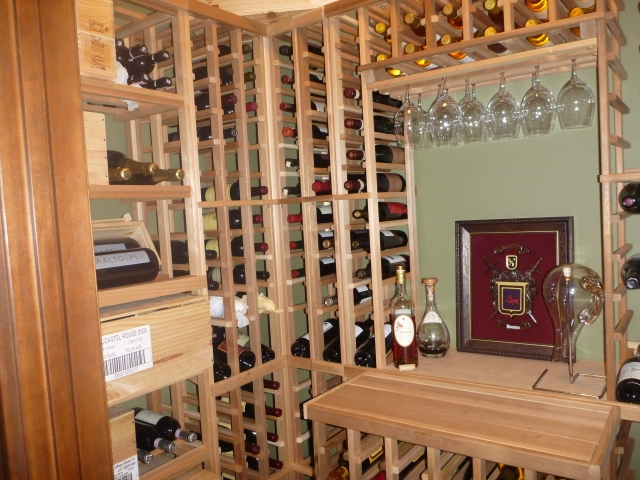 Photo by Jim Hueston - wine cellar
